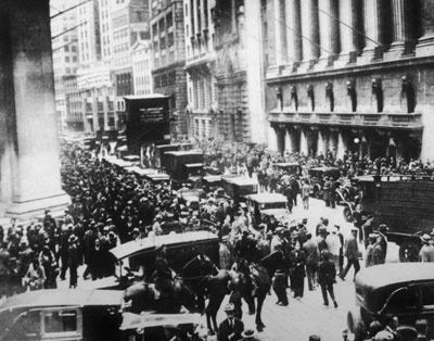 Causes of the Great Depression: Stock Market Crash & Fallout - High School Lesson Plan
