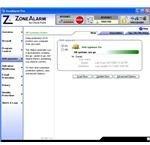 Anti-Spyware Window of ZoneAlarm