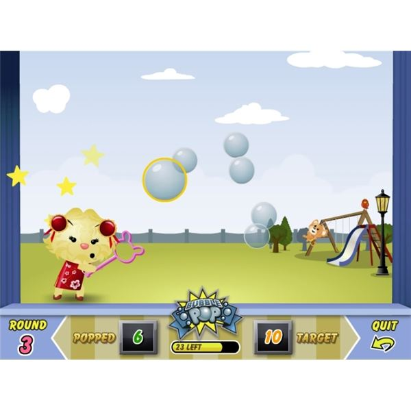 Virtual Pet Games - Bubble Pop