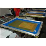 Frame and Mesh Screen Printing Stencil