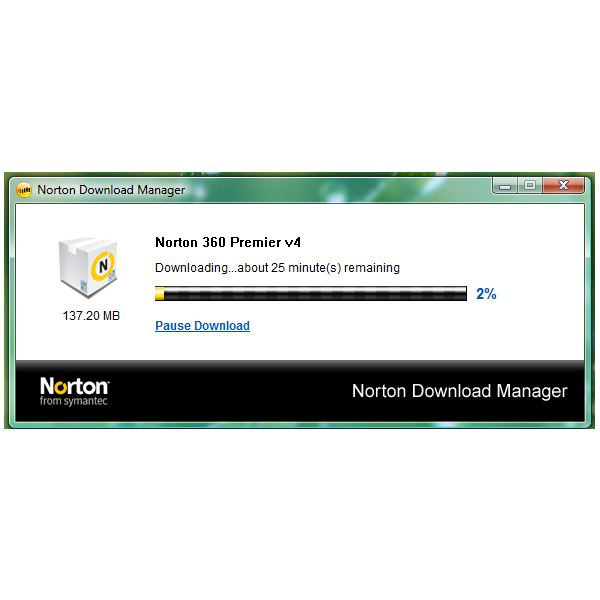 Norton 360's Norton Download Manager