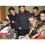 Students Studying Circuits