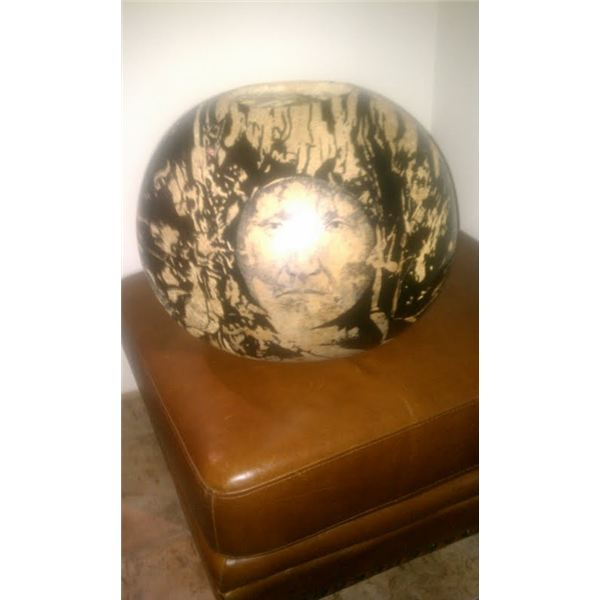JD Challenger Painted Gourd