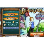 Diner Dash Lite Introduction Screen