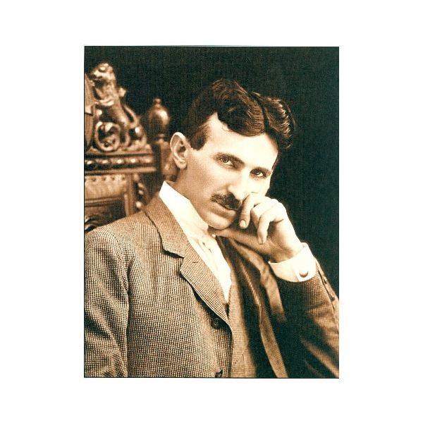 Serbian Nicola Tesla's alternating current revolutionised electricity generation, distribution and use