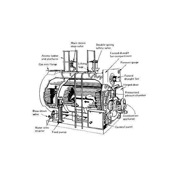 Fire tube boiler parts explained - Learn about the working of these ...