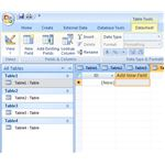 Create Multiple Tables in Access 2007