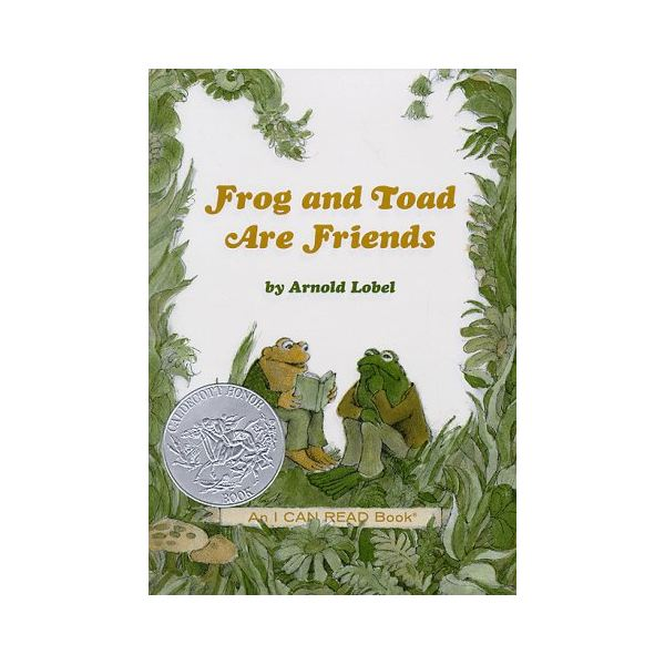 Frog and Toad Are Friends Book Jacket