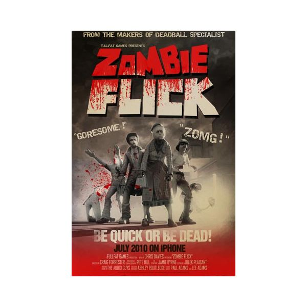 Zombie Flick Review for iPhone