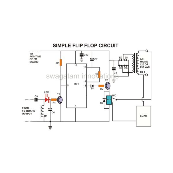 Wireless Remote Switch, Circuit Diagram, Image