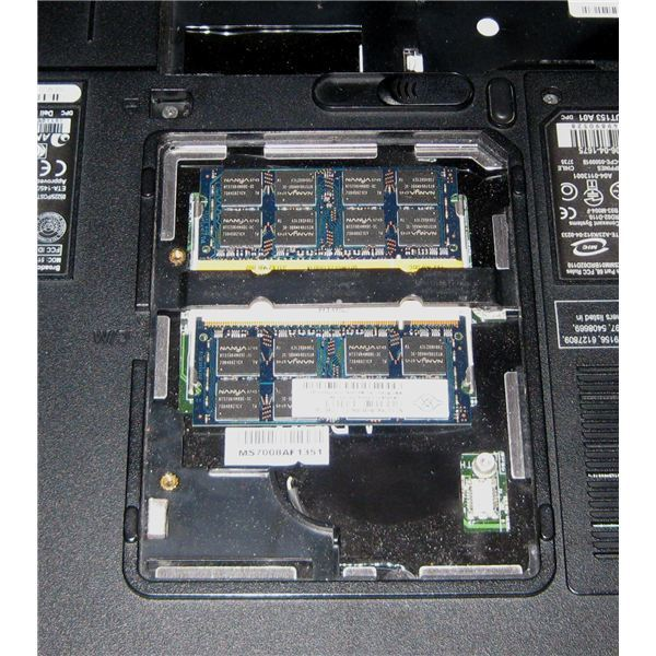 Inside of a Dell Computer