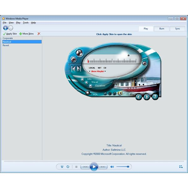 Top 10 skins/themes for windows media player.