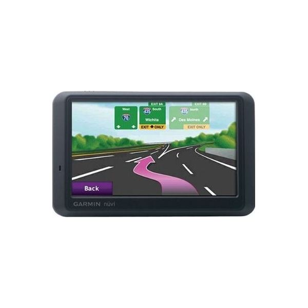 GarminNuvi755T lane assist view