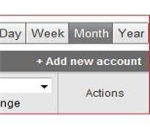 Google Analytics - Add New Account