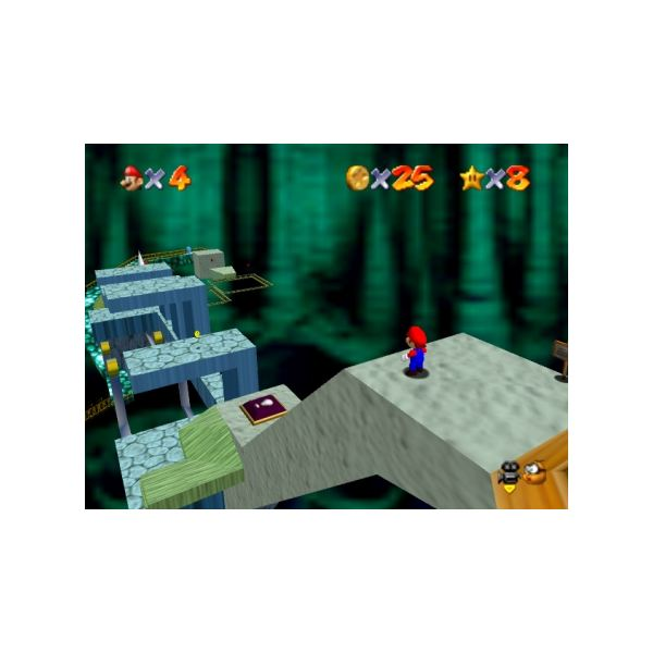 Super Mario 64's platforming gameplay still holds up well, and this is thanks to the game's clever stage design.