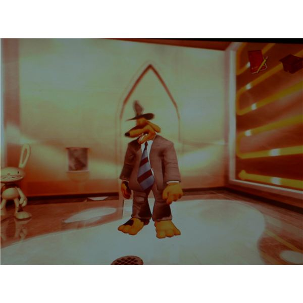 Sam and Max: Walkthrough for The Penal Zone - The Mole-Processing room.