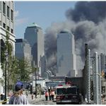 September 11th WTC View From Jersey City 9-2001