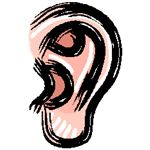 Ear from Microsoft Clipart