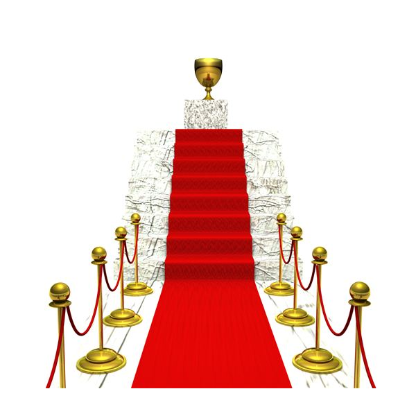Give employees the red carpet treatment at an office party fashioned after the Oscars.
