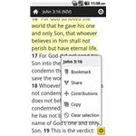 Bible (YouVersion) - Christian Rook Reader - Android App