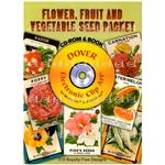 Dover Publications Seed Packet CD
