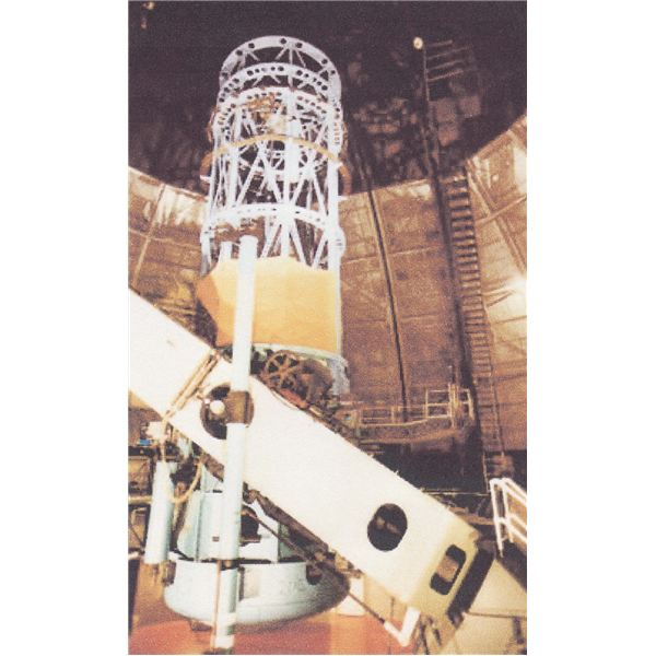 The 100-inch telescope at Mt. Wilson