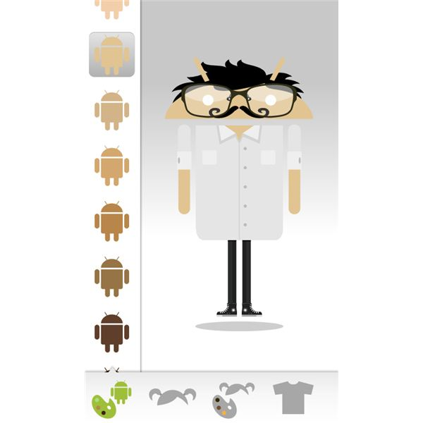 Androidify for Android Customization