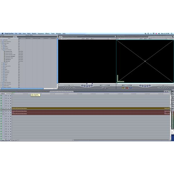 Final Cut Pro Interface