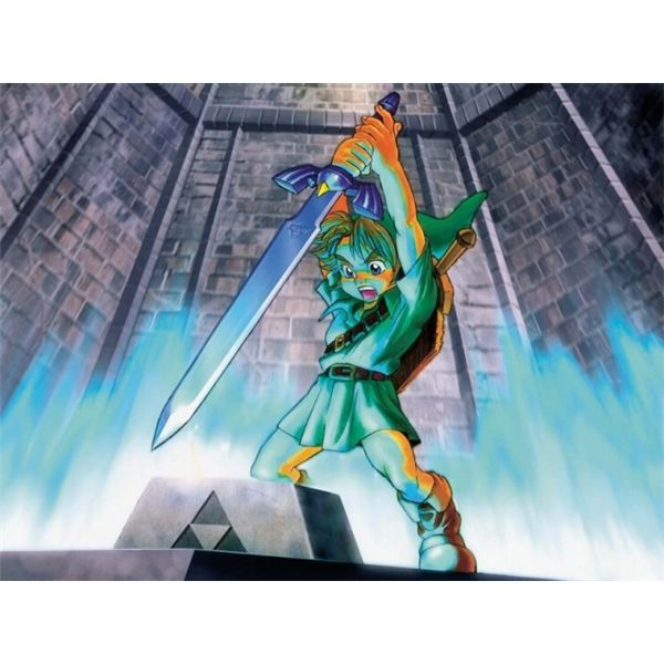 Link must travel through time to save Hyrule.