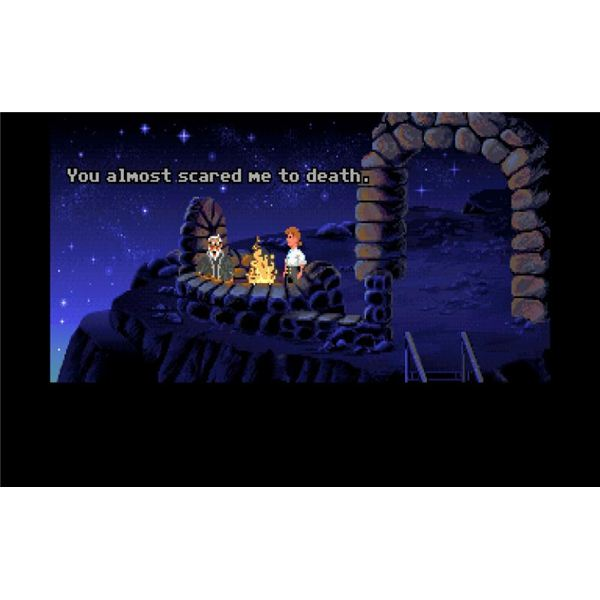 Original Secret of the Monkey Island Game