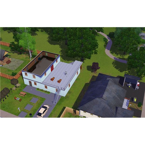 House Building Tools Come a Long Way in The Sims 3