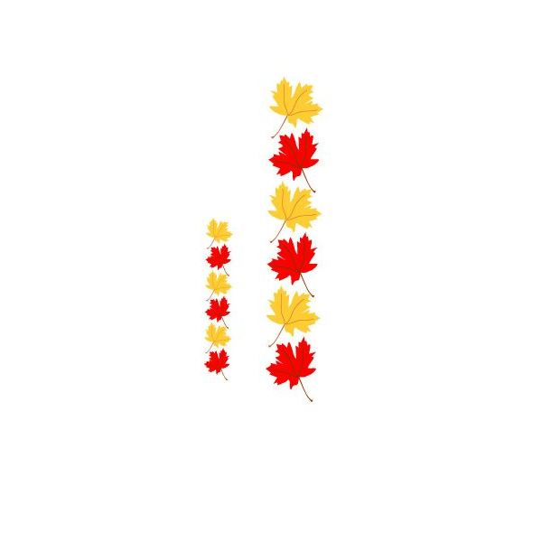 Maple Leaf Borders