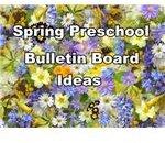 Spring Preschool Bulletin Board Ideas
