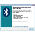 'Add Bluetooth Device' Wizard