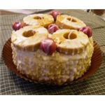 Pineapple Upside-Down Cake Candle