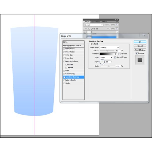Creating the layer styles