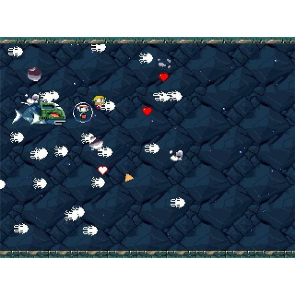Ikachan and Ironhead Make a Cameo Appearance in Cave Story