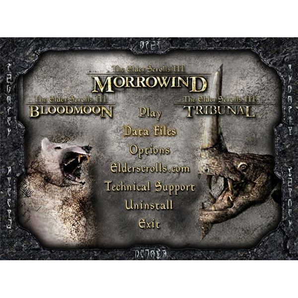 Morrowind – Tribunal and Bloodmoon
