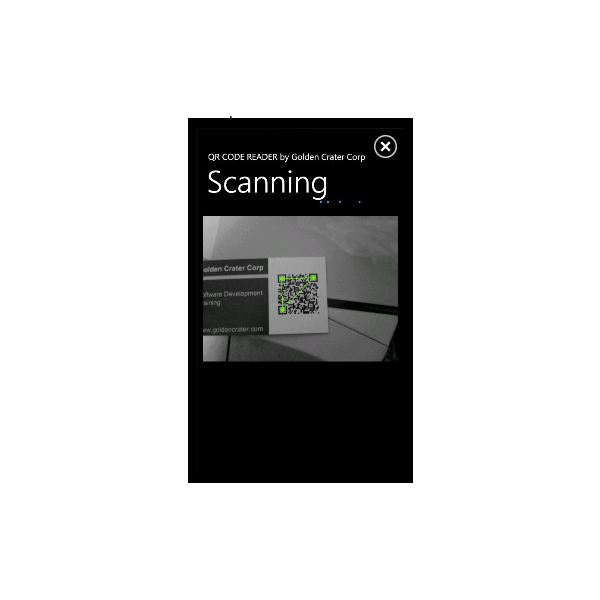 Windows Phone 7 Barcode Readers - QRCode