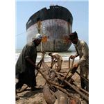 ship breaking - labor