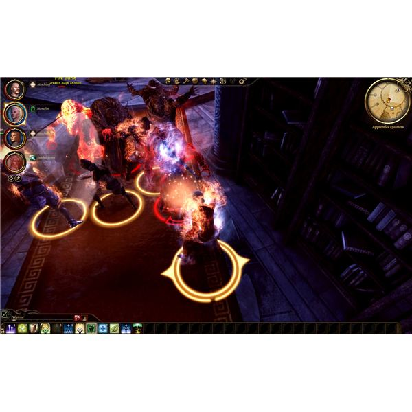 Dragon Age: Origins - Circle Tower - The Library