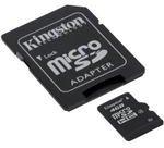 Professional Kingston MicroSDHC 4GB
