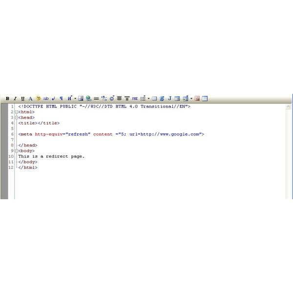 Auto Redirecting a Web Page with HTML Code