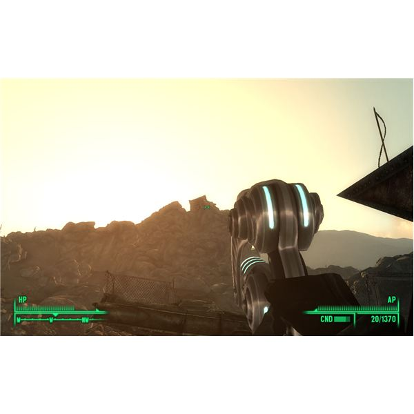 Fallout 3 - The Sniper Shack Holds a Victory Rifle and a Keller Tape