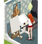 The Sims Social Art Skill