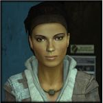 Alyx from Half-Life 2 is one of the best animated character in any game