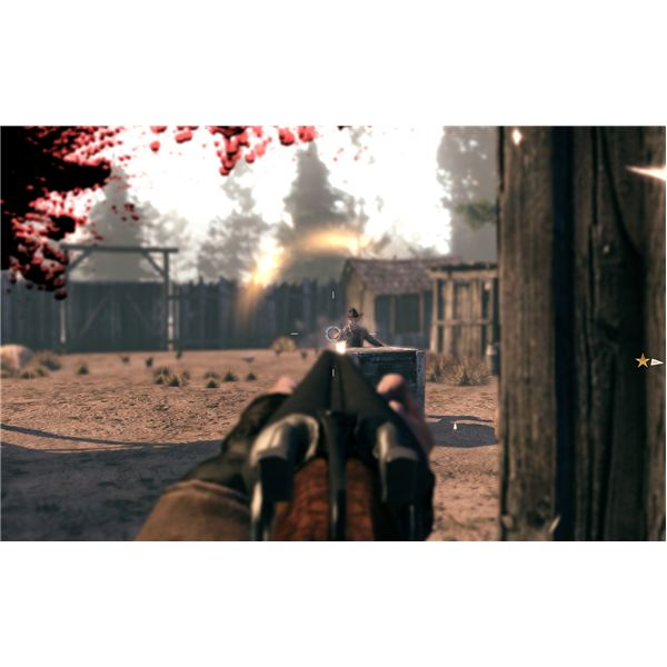 Call of Juarez: Bound in Blood Walkthrough - Chapter 8 - Defending the Farm and Killing a Gang