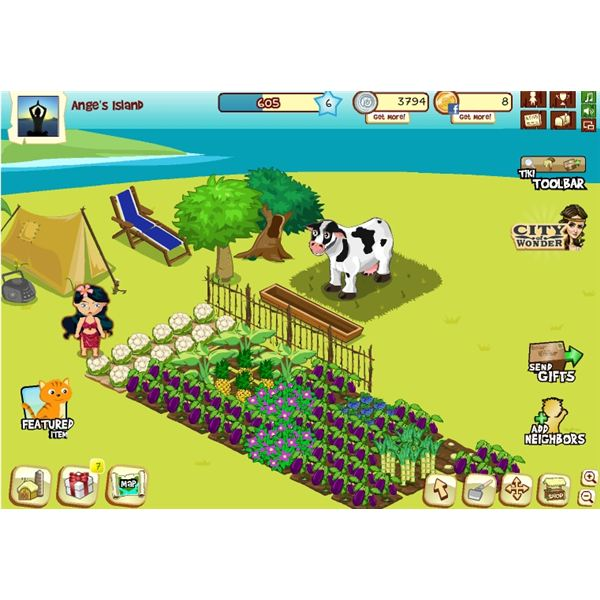 Tiki Farm game