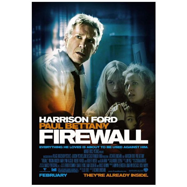 Having a Firewall is like having Harrison Ford protect your computer!