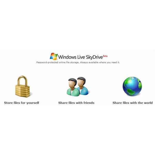Free Online Storage Space & Free Online Storage File Sharing with Windows Live SkyDrive